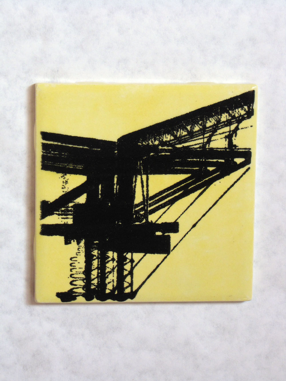 Silkscreened Tile